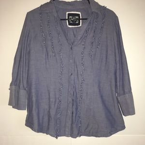 Cato 3/4 Sleeve Button down